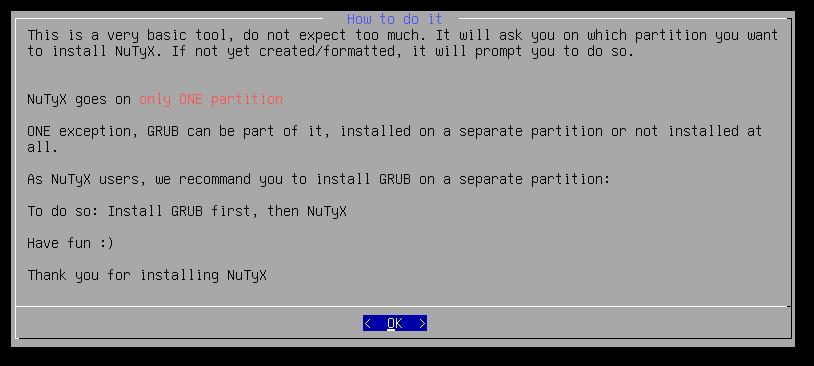 NuTyX GNU/Linux